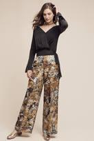 Hemant & Nandita Blooming Jacquard Wide-Leg Trousers