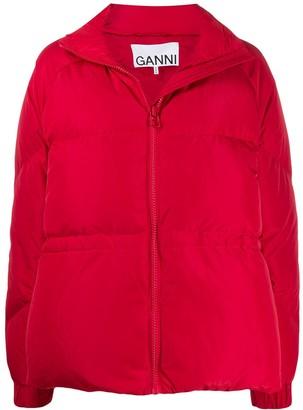 Ganni Oversized Puffer Jacket