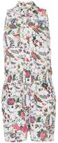 Tory Burch floral print playsuit