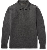 The Elder Statesman Stretch Cashmere-Blend Sweater