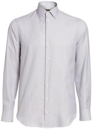 Giorgio Armani Textured Dress Shirt