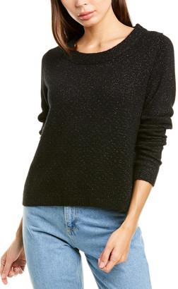 Raffi Texture Lurex Cashmere Sweater
