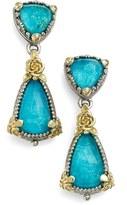 Konstantino 'Iliada' Double Drop Earrings