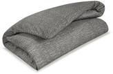 Calvin Klein Acacia Grey Textured Duvet Cover - King