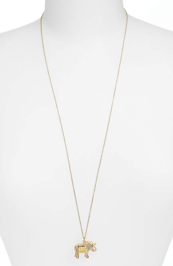 Anna Beck Jewelry That Makes a Difference Elephant Pendant Necklace