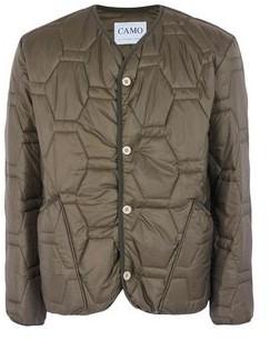 Camo Synthetic Down Jacket