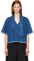 See by Chloe Indigo Denim Blouse