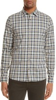 Michael Kors Nelson Plaid Slim Fit Button-Down Shirt - 100% Exclusive