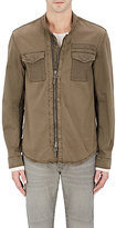 John Varvatos Men's Stretch-Cotton Shirt Jacket