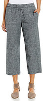 Eileen Fisher Petites Straight Cropped Pants