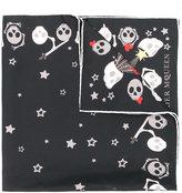 Alexander McQueen Party Skull scarf
