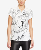 Polo Ralph Lauren Paint-Splattered Cotton Polo