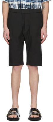 Barena Black Tracio Shorts