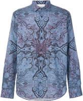 Etro paisley long sleeved shirt