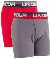 Under Armour Two-Pack Logo Boxerjock Boxer Brief Set