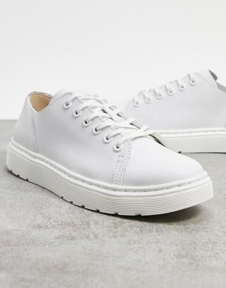 Dr. Martens dante sneakers in white