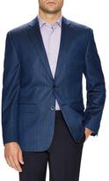 Vince Camuto Silk Hopsack Notch Lapel Sportcoat
