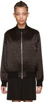 Givenchy - Blouson aviateur noir et