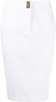 Boutique Moschino High-Waisted Fitted Skirt