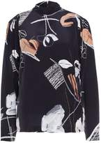 Bruuns Bazaar AMBER HIGH NECK Blouse black
