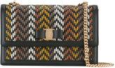 Salvatore Ferragamo zig-zag crossbody bag - women - Leather - One Size