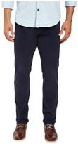 U.S. Polo Assn. Slim Straight Corduroy Five-Pocket Jeans in Mood Indigo