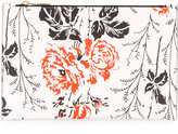 Victoria Beckham floral print clutch - women - Leather/Polyurethane/Polyimide - One Size