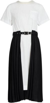 Sacai Cotton Poplin Dress