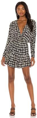 Amuse Society Spellbound Woven Mini Dress