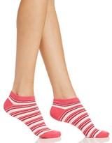 Kate Spade Mariner Stripe No-Show Socks