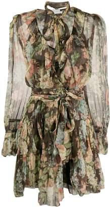 Zimmermann Espionage ruffle wrap dress