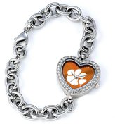 Game Time Women's COL-HEA-CLE NCAA Heart Series Clemson Tigers Watch
