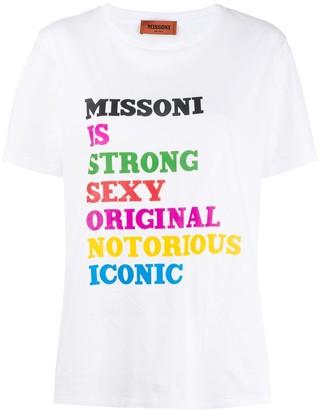 Missoni Anagram T-shirt