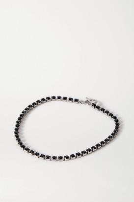 Isabel Marant Silver-tone Crystal Choker - one size
