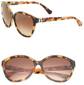 Diane von Furstenberg Harper 58mm Cats Eye Sunglasses