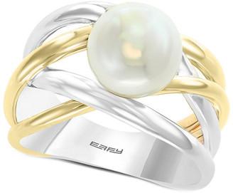 Effy Fine Jewelry 14K & Silver 9Mm Pearl Ring