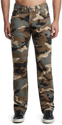 True Religion Men's Ricky Camo-Print Denim Jeans