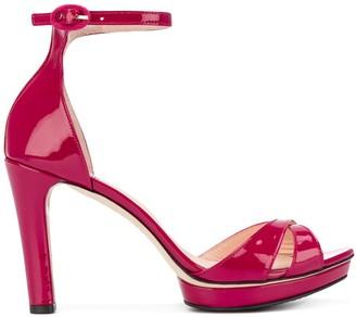 Repetto Ankle Strap Platform Sandals