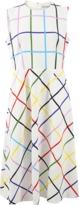 Mary Katrantzou Osmond Multi Grid Dress