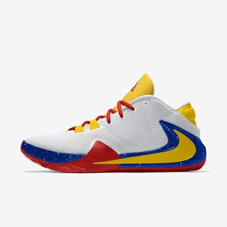 Nike Custom Basketball Shoe Zoom Freak 1 By You (Chicago)