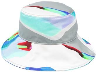 MSGM Abstract Print Bucket Hat