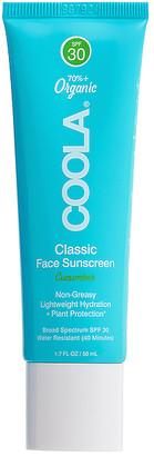 Coola Classic Face Organic Sunscreen Lotion SPF 30
