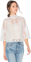 Aijek Tatiana Embroidered Blouse