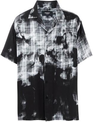 Represent Bleached Tartan Shirt