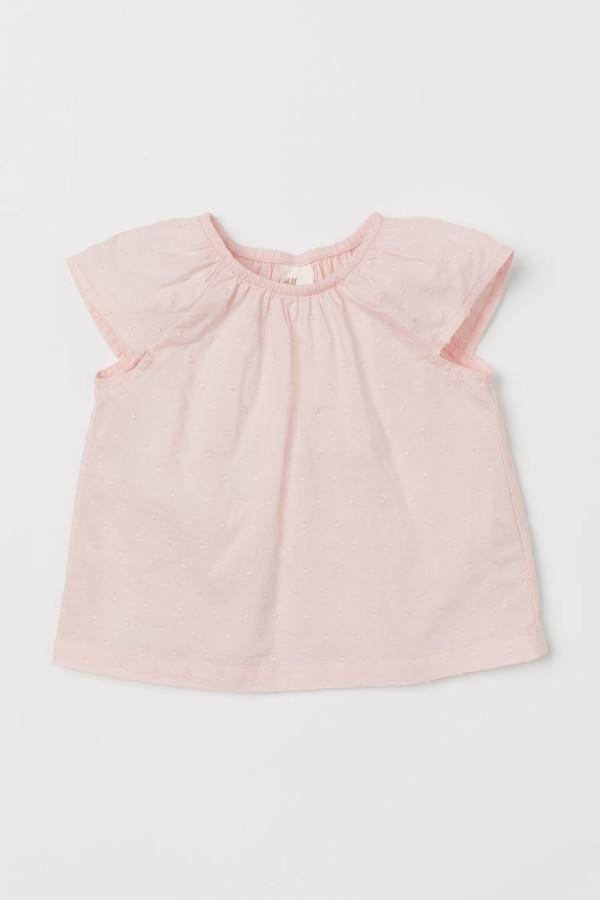H&M Cotton Blouse - Pink