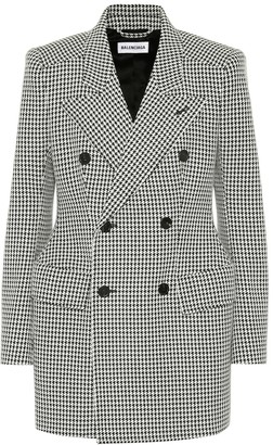 Balenciaga Hourglass wool-blend blazer