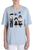 Dolce & Gabbana Embroidered Jersey Tee
