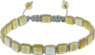 Shamballa Pearl Lock Diamond Bracelet