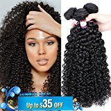 Doris 8A Brazilian Kinkys Curly 3Bundles 16inch Brazilian Virgin Hair Kinkys Curly Hair Weave Remy Human Hair Extensions