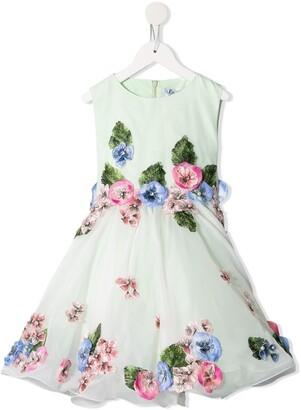 Lesy Flower Patch Dress